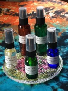 healing sprays, herbs and sprays