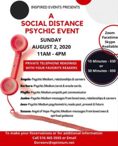 social distance psychic event