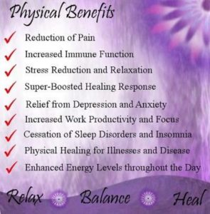 physical benefits of Reiki